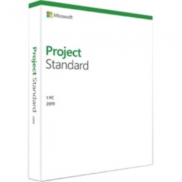 Project Standard 2019 Win Engl [Item Discontinued]