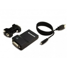 Lenovo Accessory ThinckPad 0B47072 USB3 Adapter DVI/VGA Retail [Item Discontinued]