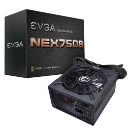 eVGA Power Supply 110-B1-0750-VR SuperNOVA 750 B1 750W ATX 24Pin Retail [Item Discontinued]