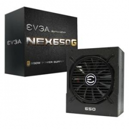 eVGA Power Supply 120-G1-0650-XR SuperNOVA 650 G1 650W ATX 80PLUS GOLD Retail [Item Discontinued]
