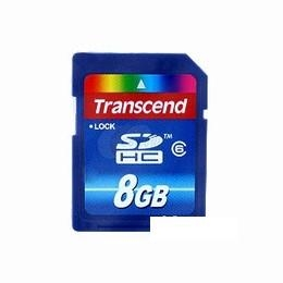 8GB SecureDigital High Capacity Video