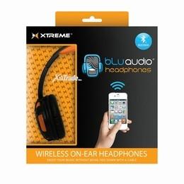 XTREME BLUETOOTH HEADPHONES - ORANGE