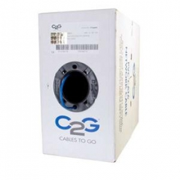 500FT Cat6 PVC Blue [Item Discontinued]