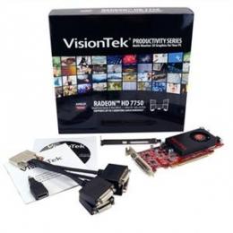7750 PCIe 1GB VHDCI 4 port DVI