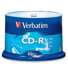CDR 80MIN700MB52X Branded 50PK [Item Discontinued]