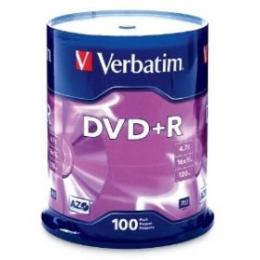 DVD+R 4.7GB 16x 100 Pack [Item Discontinued]