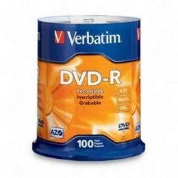 DVD-R 4.7GB 16X 100 Pack