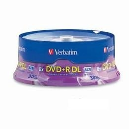 DVD+R DL 8.5gb 8x Branded 30 p [Item Discontinued]