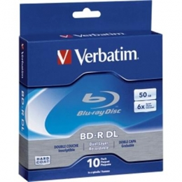 BD-R DL 50GB 6x  Branded 10 pk [Item Discontinued]