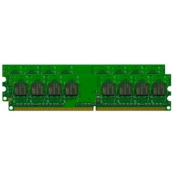 2X2GB DDR2 UDIMM PC2-6400 800MHz Unbuff 1.8V Desktop Memory