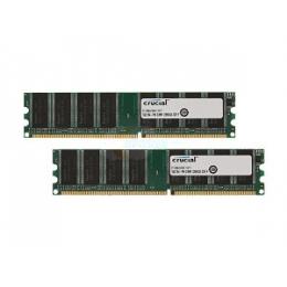 CRUCIAL 2X1GB DDR 400 184 PIN