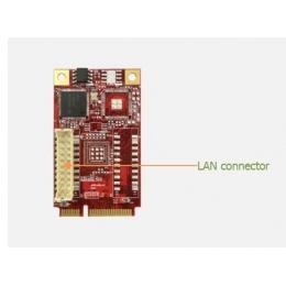 mPCIe to single GbE LAN Module