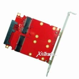SATA to dual mSATA RAID Card JMS562