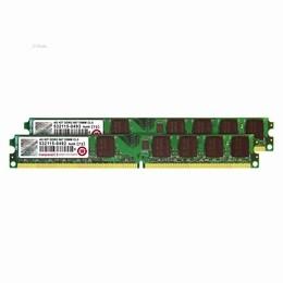 Transcend JetRam 4GB DDR2-667 PC-5300 240-Pin CL5 Dual Channel Desktop RAM Kit (2 X 2GB) (DIMM)