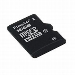 16GB micro SecureDigital High Capacity Class 4 Single Pack without Adapter