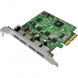 HighPoint IO Card RU1144CM 4Port USB 3.0 RocketU 1144cm PCI-Express 2.0x4 for Mac Retail