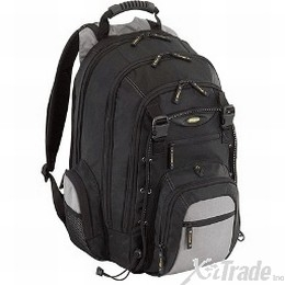 TARGUS CITYGEAR LAPTOP BACKPAK FITS UP TO 15.4 BLACK/YELLOW [Item Discontinued]