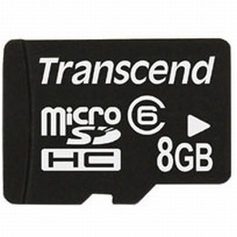 8GB Micro SecureDigital Class 6 (No Box or Adapter)