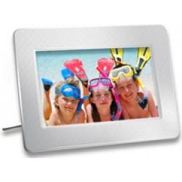Transcend 7-inch PF700 Digital Photo Frame LCD (White)