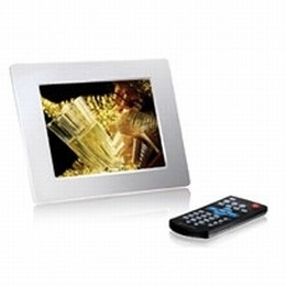 2GB Digital Photo Frame 8-inch LCD with Touch Key (White)