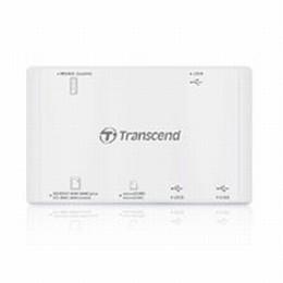 USB Multi Card Reader P7 (White)