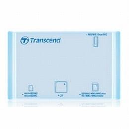 Transcend USB Multi Card Reader P8 (Aqua)