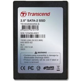 Solid State Disk (SSD) - 16 GB - 2.5-inch - Serial ATA - SLC Chips