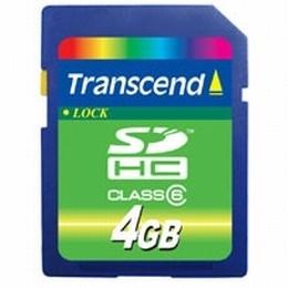 4GB SecureDigital High Capacity Class 6