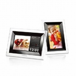 1GB T.Photo 710 Digital Picture Frame (Crystal)