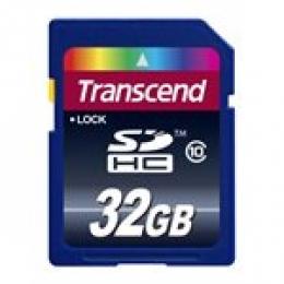 TRANSCEND 32GB SDHC (CLASS 10)
