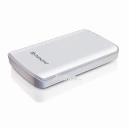 500GB StoreJet D2 2.5 Portable Hard Drive (White)