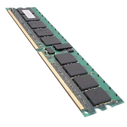 1GB DDR2-800Mhz PC2-6400 CL5 ECC Unbuffered 240PIN DIMM (64X8) Server Memory