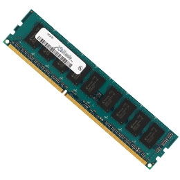 1GB PC3-10600 NON ECC CL9 64X8 Desktop Memory