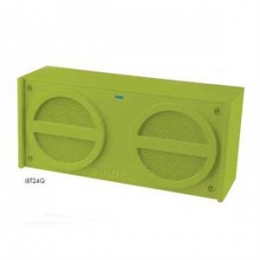 IHOME IBT26S BLUETOOTH WIRELESS STEREO SPEAKER SYSTEM WITH SPEAKERPHONE AND USB CHARGING