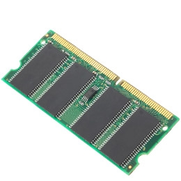 64MB PC133 CL3 3.3V SDRAM 144PIN (8x16) Laptop Memory