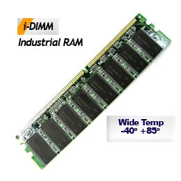 256MB DDR1 U-DIMM 333MHz 32Mx16 Samsung I-DIMM Industrial Memory