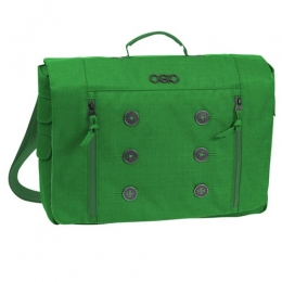Ogio Women Midtown Messenger Bag 15in Emerald Green