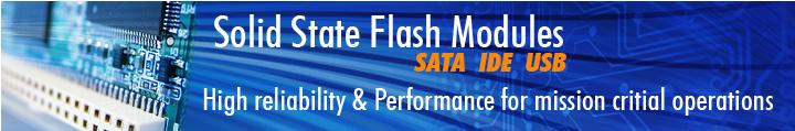 Solid State Hard Disk on Module - IDE SATA USB