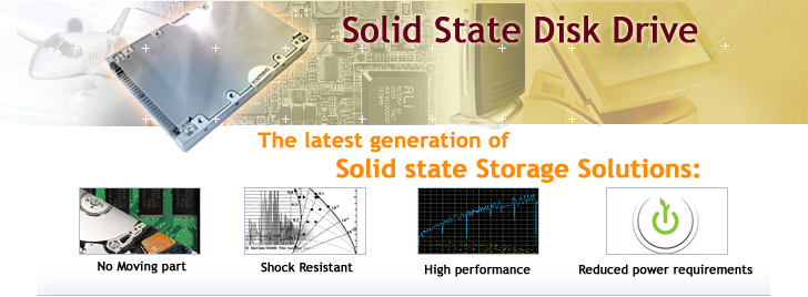 Hi-Performance Solid State Disk Drive IDE & SATA