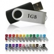 Swivel USB Drive - 1GB  - with 1 Colour Logo
