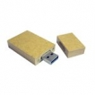 Eco Friendly USB Key - 4GB - Recycled paper with magnetic cap
