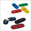 Capsule USB key - 512 MB - with 1 Colour Logo