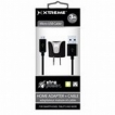 XTREME 1 PORT 1 AMP HOME CHARGER WITH 3FT MICRO USB CABLE BLACK