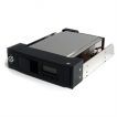 StarTech Accessory HSB110SATBK 5.25in Trayless Hot Swap Mobile Rack for 3.5in SATA HDD with LCD and
