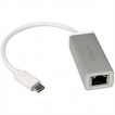 StarTech Accessory US1GC30A USB-C to Gigabit Adapter USB3.1 Gen 1 5Gbps Silver Retail