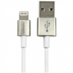 StarTech Cable USBLTM1MWH 3 foot Premium Apple Lightning to USB Cable White Retail