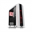 Thermaltake Case CA-1H6-00M6WN-02 Versa N27 Snow Edition Window Mid-tower Chassis (3X Red LED Fan) R