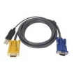 10 PS2 to USB KVM Cable