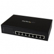 StarTech Network IES81000POE 8Port Unmanaged Industrial Gigabit Power Ethernet Switch Retail