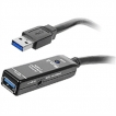 SIIG Cable JU-CB0811-S1 USB 3.0 Active Repeater Cable 20M Brown Box